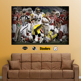James Harrison Super Bowl TD Mural Wall Decal