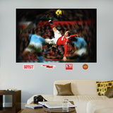 Wayne Rooney Bicycle Kick Mural Wall Decal