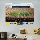 Michigan Stadium Mural 2011 Edition Wall Decal