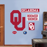 Oklahoma Logo   Wall Decal