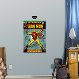 Iron Man Cover Jr. Wall Decal