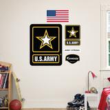US Army Logo - Duvar Çıkartması