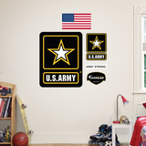 US Army Logo Wall Decal