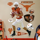 Colt McCoy Texas Wall Decal
