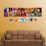 Star Wars Movie Mural Vinilos decorativos