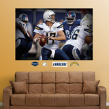 Philip Rivers Closeup Mural Wall Decal