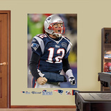 Tom Brady Flex Mural Wall Decal