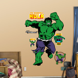 Classic Incredible Hulk Muursticker