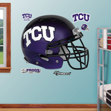 TCU Helmet Wall Decal