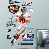 Eli Manning SB 46 MVP Wall Decal
