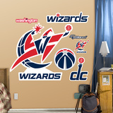 Washington Wizards Logo 2011-2012 Wall Decal