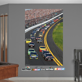 Daytona International Speedway Pack Mural Wall Decal