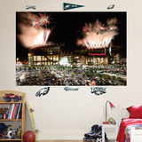 Philadelphia Eagles Exterior Stadium Mural Wall Decal