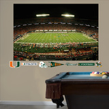 Miami Hurricanes – Stadium Mural   Wall Decal