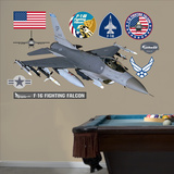 F-16 Falcon2 Wall Decal