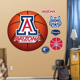 University of Arizona Basketball Logo   Wall Decal