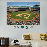 Oakland Athletics Oakland-Alameda County Coliseum Stadium Mural Wall Decal