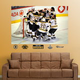 Boston Bruins Stanley Cup Celebration Mural Wall Decal