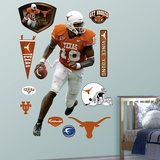 Vince Young Texas Longhorns Wall Decal