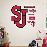 St. Johns Red Storm Logo Wall Decal
