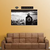 Kid Rock Detroit Skyline Mural Wall Decal