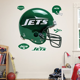 New York Jets Throwback Helmet Wall Decal