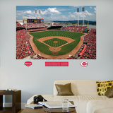 Cincinnati Reds Great American Ball Park Stadium Mural Wall Decal