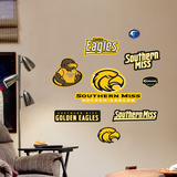 Southern Mississippi Jr. Logosheet Wall Decal
