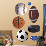 Generic Balls Wall Decal