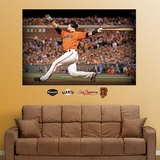 Buster Posey Mural Wall Decal