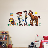Buzz, Woody, and Friends Wall Decal
