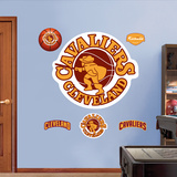 Cleveland Cavaliers Retro Logo Wall Decal