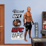 UFC Thiago Alves Wall Decal
