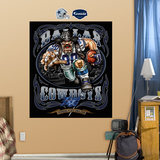Dallas Cowboys Liquid Blue Wall Decal