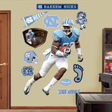 Hakeem Nicks UNC Wall Decal