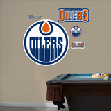 Oilers 2011-2012 Logo Wall Decal