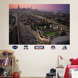Comiskey Park Skyline Mural Wall Decal