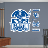 Hampton University Logo Wall Decal