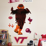 Virginia Tech Hokie Bird Wall Decal