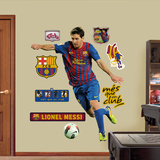 Lionel Messi 2012 wandtattoos