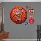University of Maryland Basketball Logo   Wall Decal