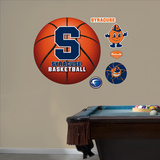 Syracuse University Basketball Logo   Wall Decal