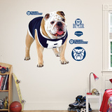 Butler Bulldog Mascot Logo Sized Wall Decal
