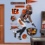 Dhani Jones Wall Decal