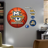 Marquette University Basketball Logo   Wall Decal