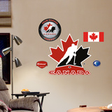 Team Canada Logo Jr. Wall Decal
