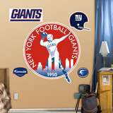 New York Giants Classic Logo Wall Decal