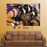 Vikings Line Mural Wall Decal