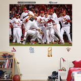 2011 WS Champs Mural Wall Decal