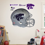 Kansas State Helmet Wall Decal
